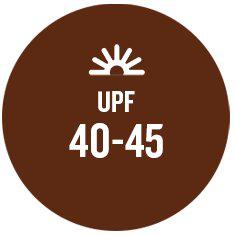 UPF 40 to 45